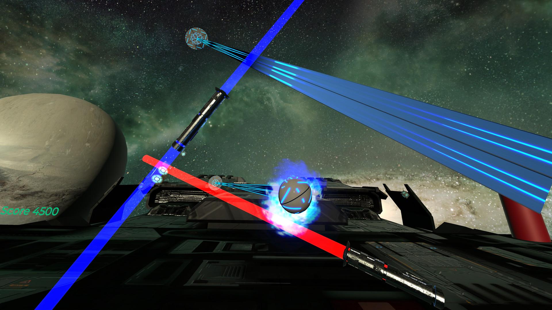 Oculus Quest 游戏《Energysaber Masta VR》太空光剑格斗VR插图(1)
