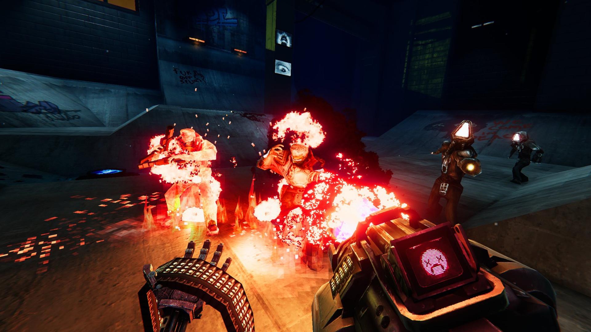 враги в огне