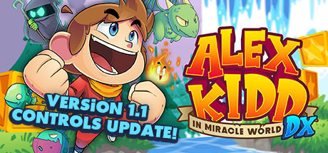 Alex Kidd in Miracle World DX [PT-BR] Capa