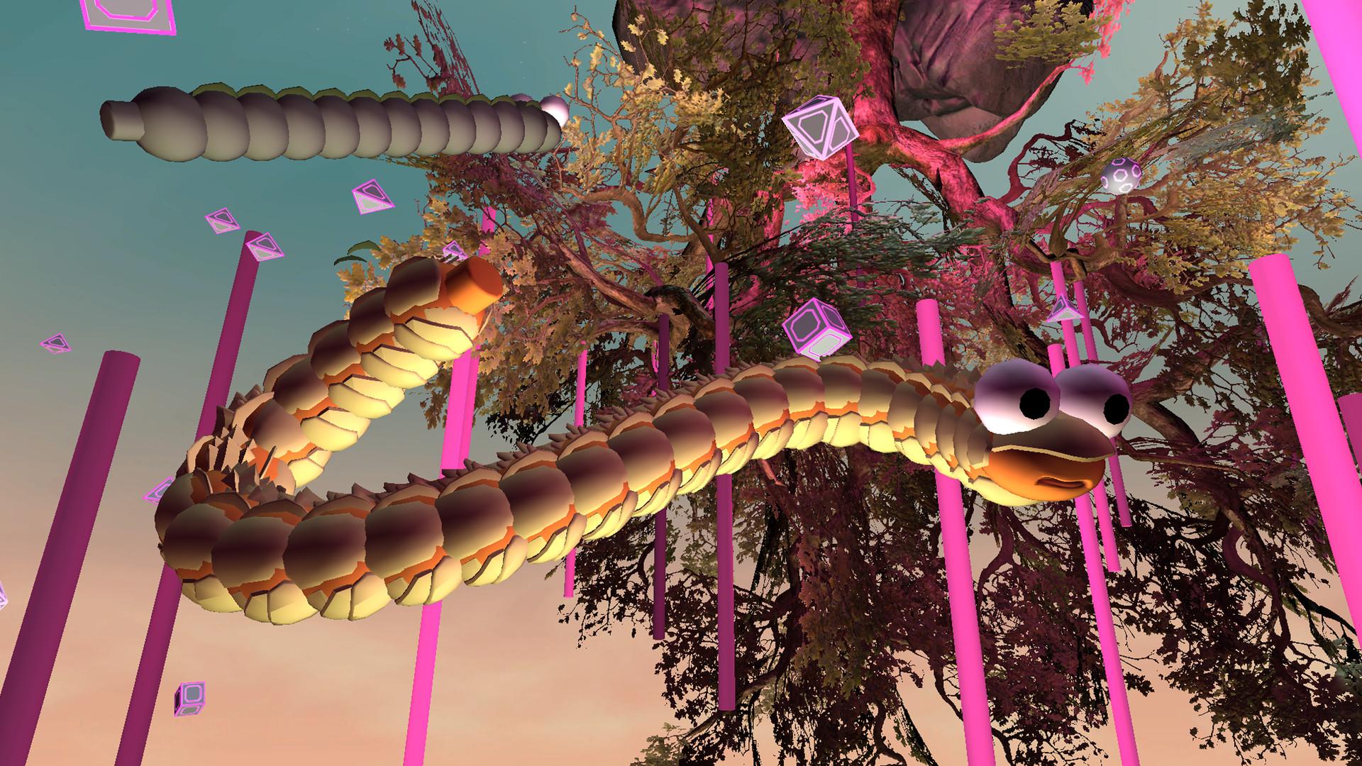 Oculus Quest 游戏《Space Slurpies》VR贪吃蛇插图
