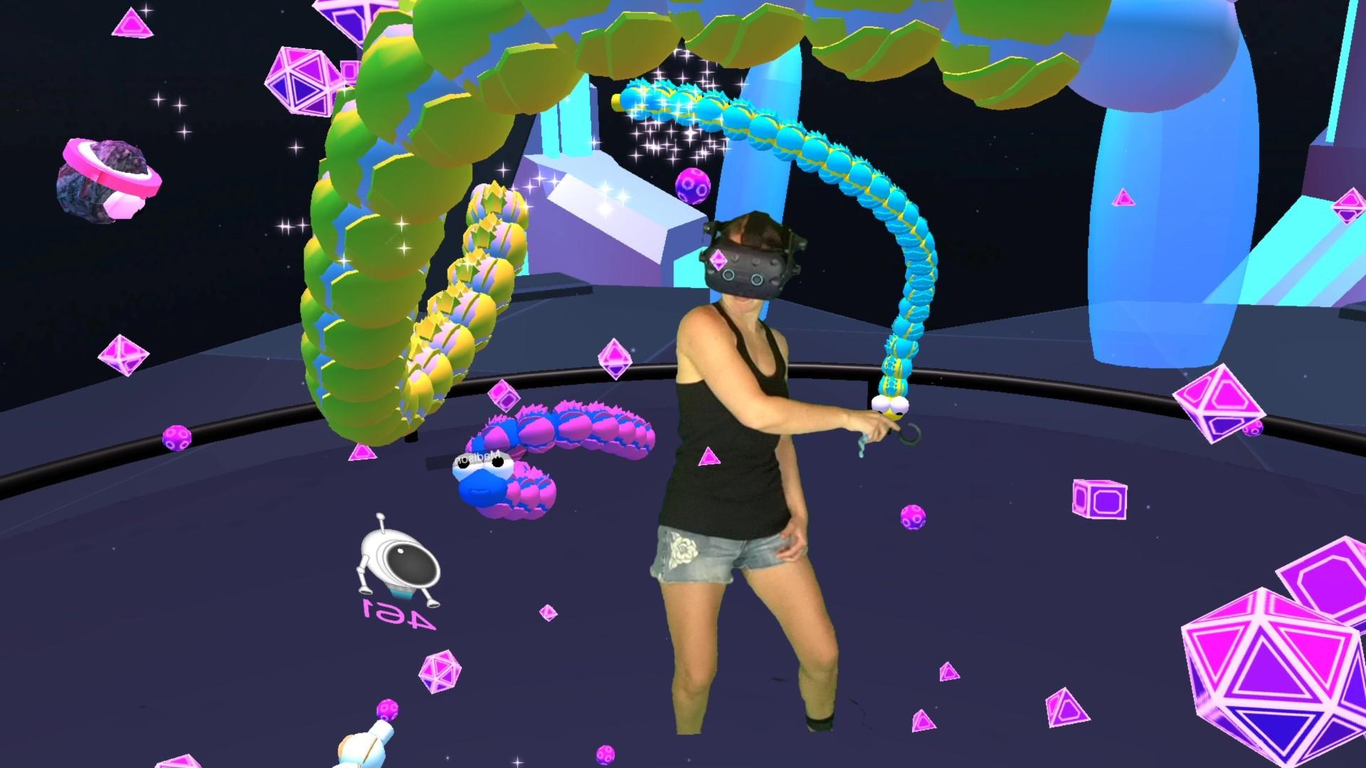Oculus Quest 游戏《Space Slurpies》VR贪吃蛇插图(1)