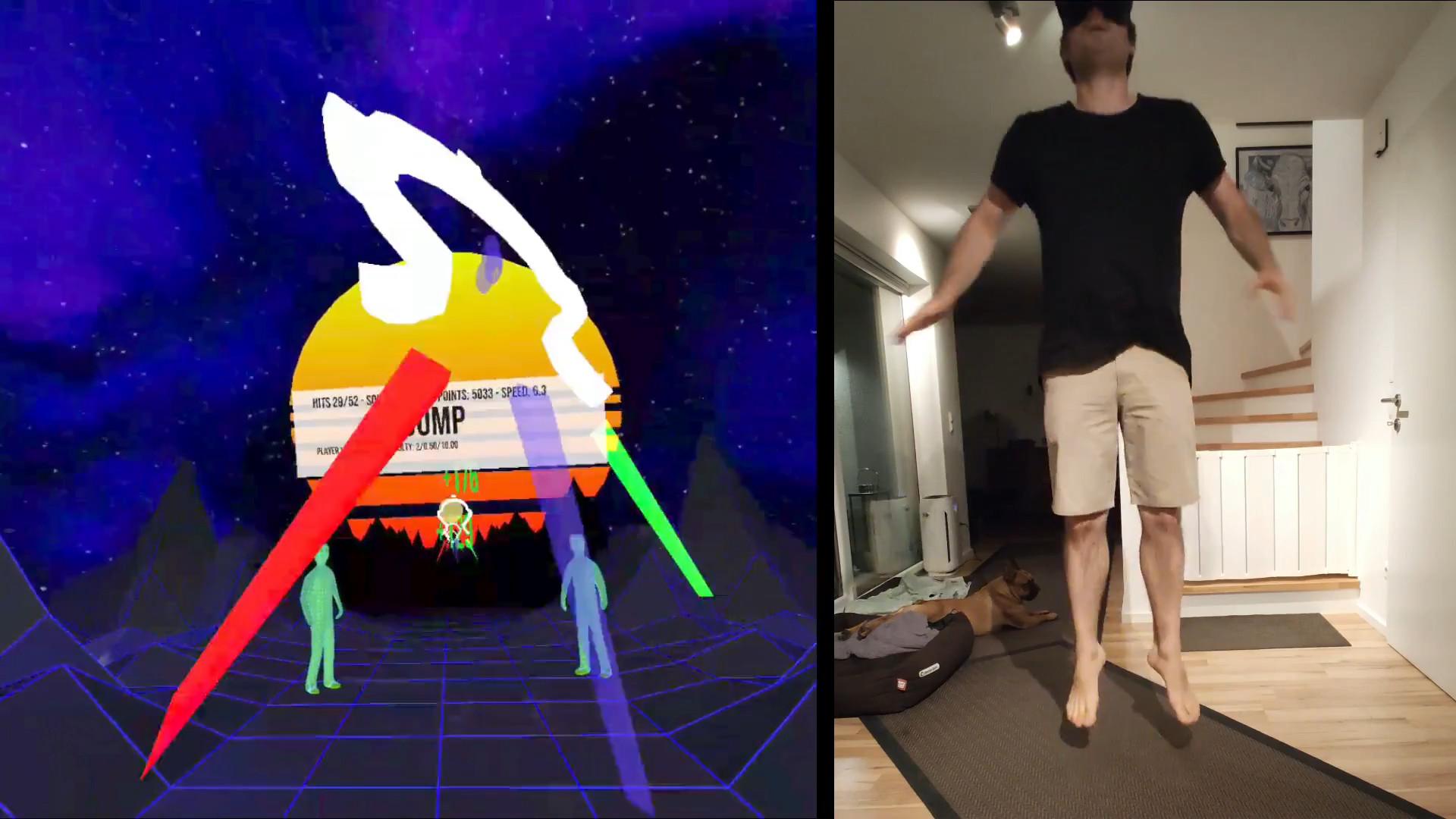 A New Fitness Challenge - VRWorkout!