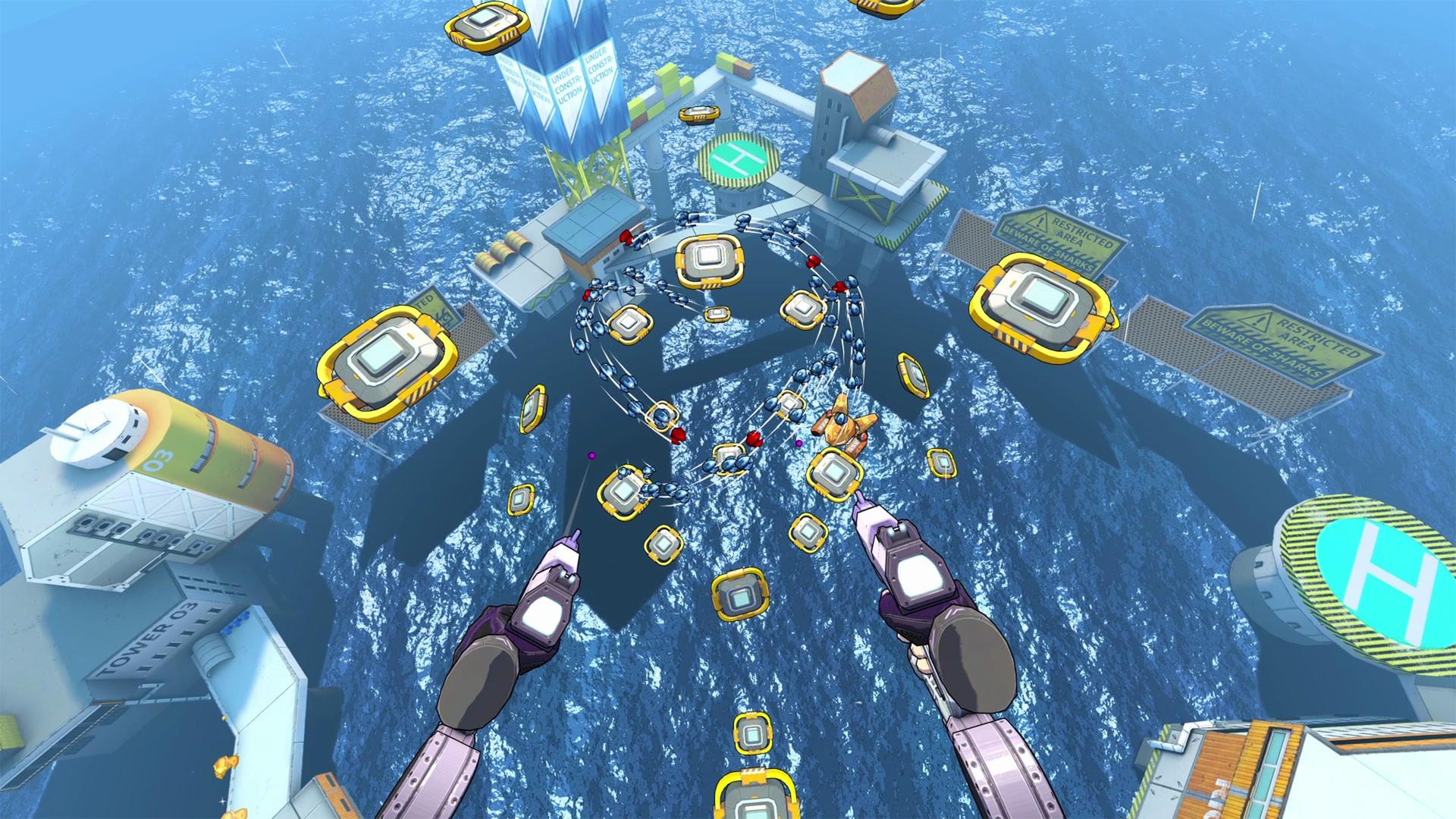 Oculus Quest 游戏《Swarm VR》群战插图(1)