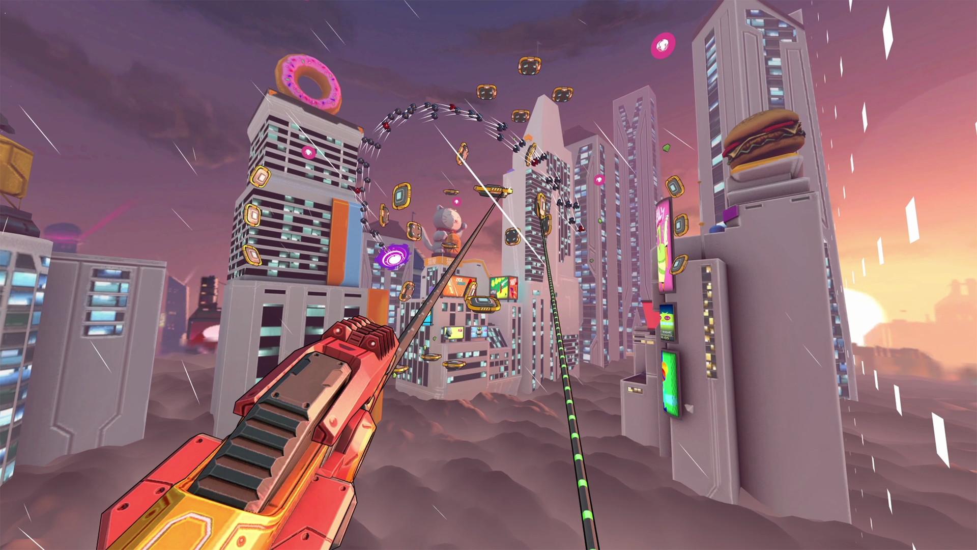 Oculus Quest 游戏《Swarm VR》群战插图