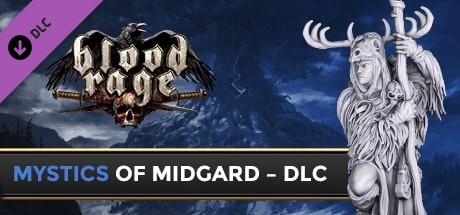 Blood Rage Digital Edition  Mystics of Midgard Capa