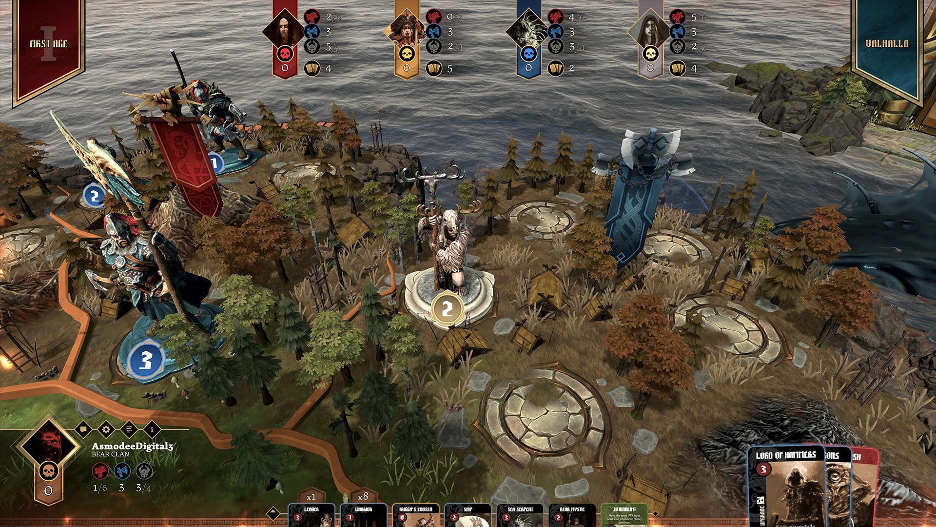 Blood Rage Digital Edition Mystics of Midgard Free Download