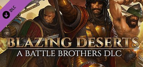 Battle Brothers  Blazing Deserts Capa