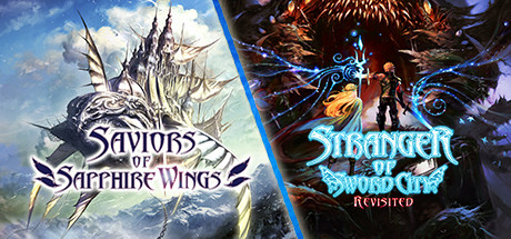 Saviors of Sapphire Wings  Stranger of Sword City Revisited Capa