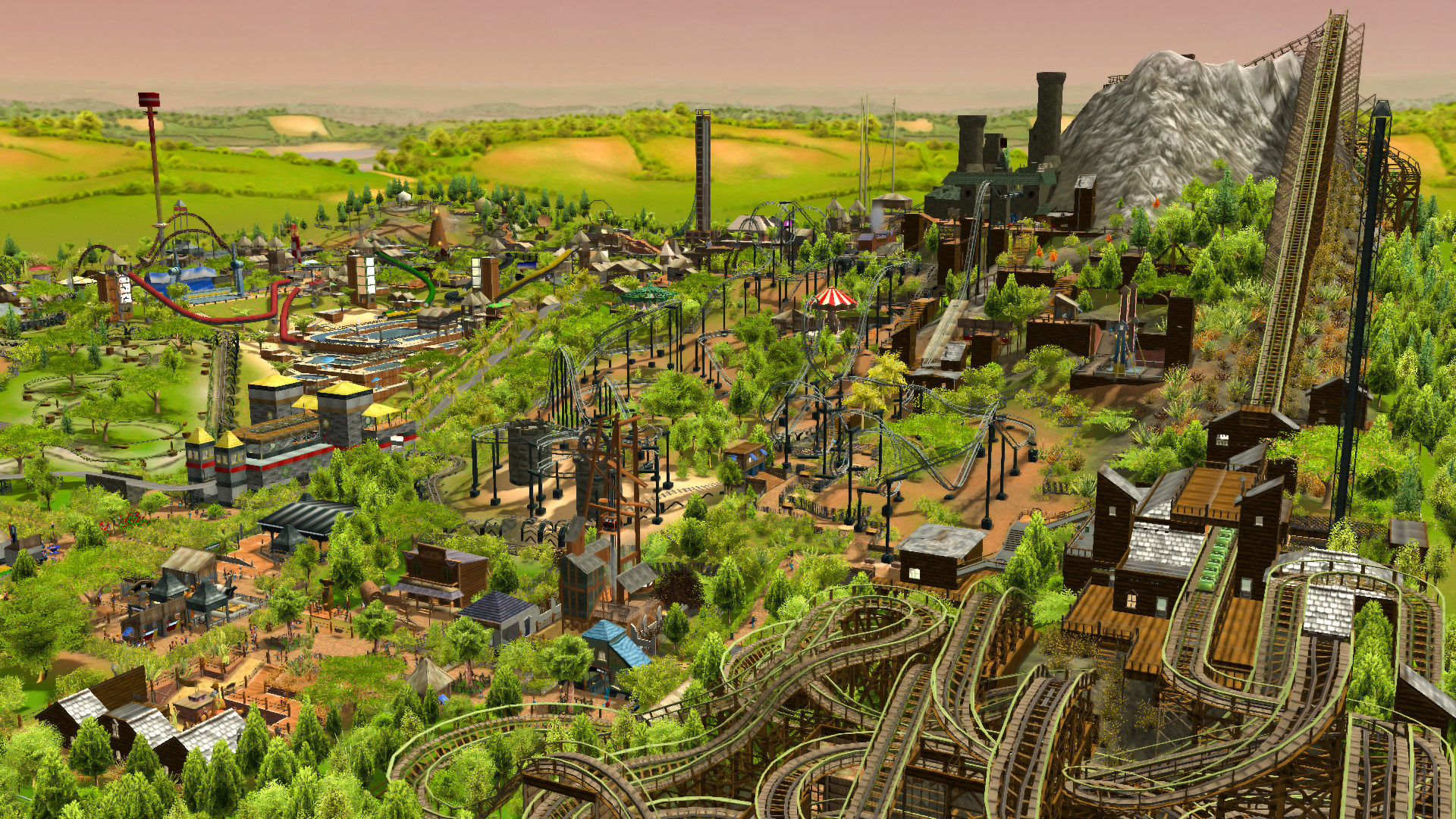 RollerCoaster Tycoon 3: Complete Edition download for free