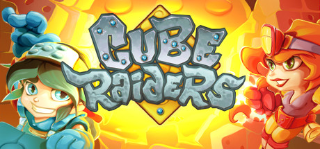 Cube Raiders Capa