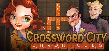 Crossword City Chronicles Cover Image