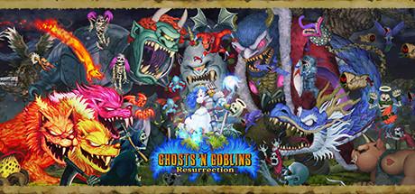 Ghosts n Goblins Resurrection Capa