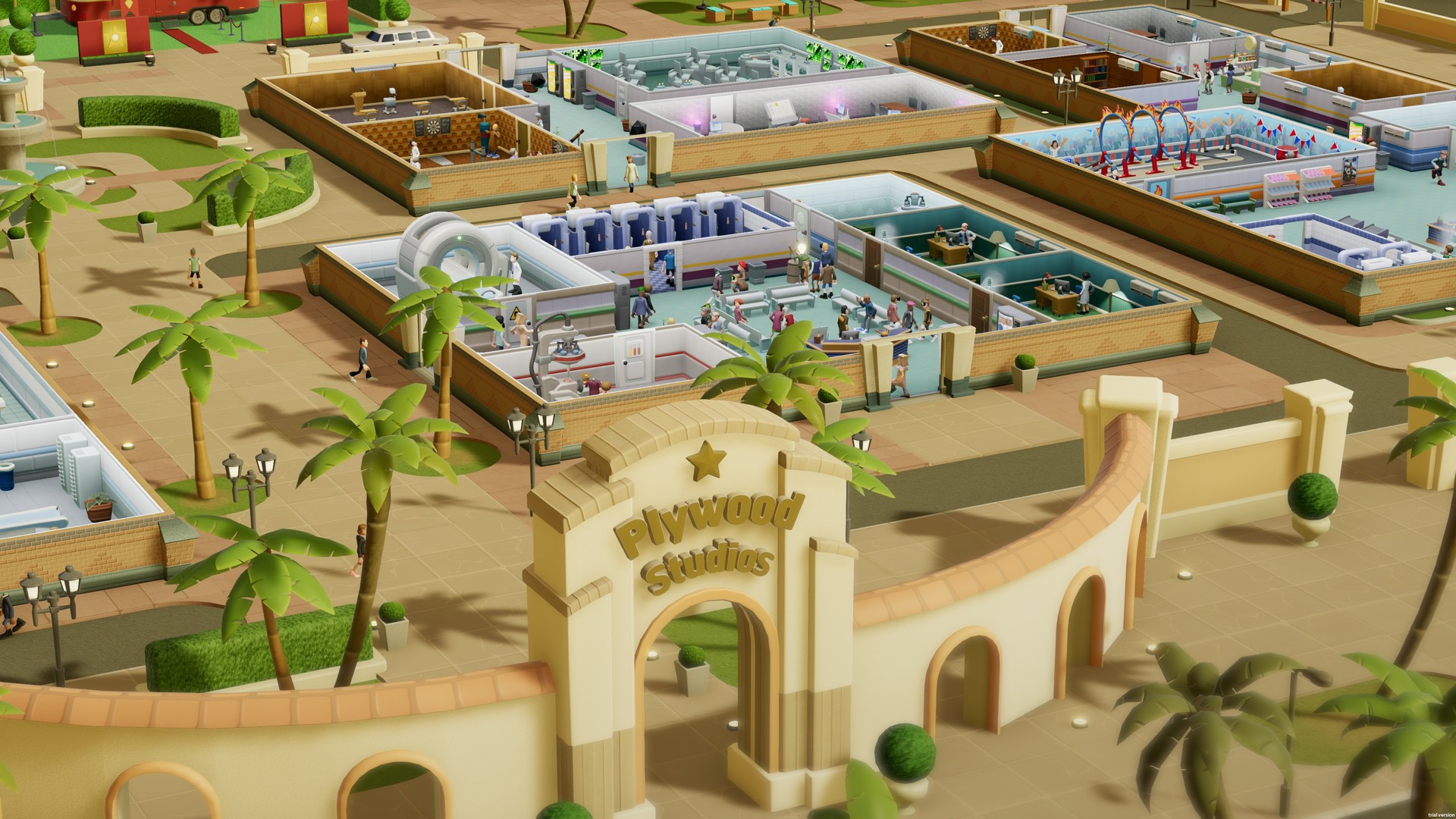 Impresiones Two Point Hospital: Choque cultural