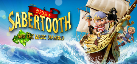Captain Sabertooth and the Magic Diamond Capa
