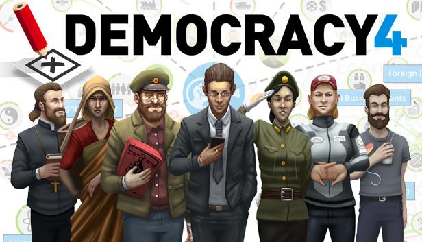 Democracy 4 в Steam