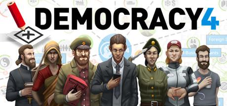 Democracy 4 Capa