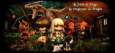 LA FORET DE PAGO : LA VENGEANCE DU DRAGON Cover Image