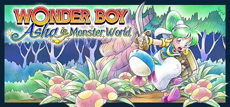 Wonder Boy Asha in Monster World Capa