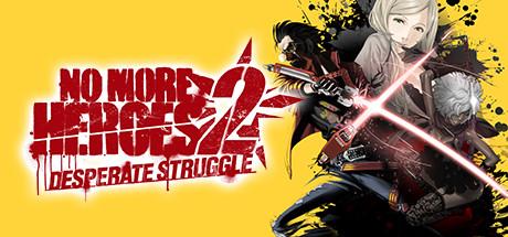No More Heroes 2 Desperate Struggle Capa