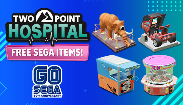 Two Point Hospital: SEGA 60th Items on Steam