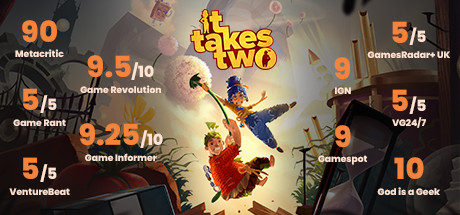 It Takes Two (Incl. Multiplayer) Free Download