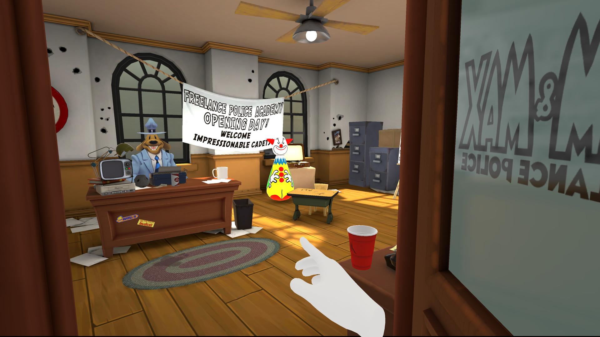 Oculus Quest 游戏《Sam & Max: This Time It's Virtual!》山姆和麦克斯:虚拟警探插图(1)