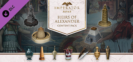 Imperator Rome  Heirs of Alexander Content Pack Capa