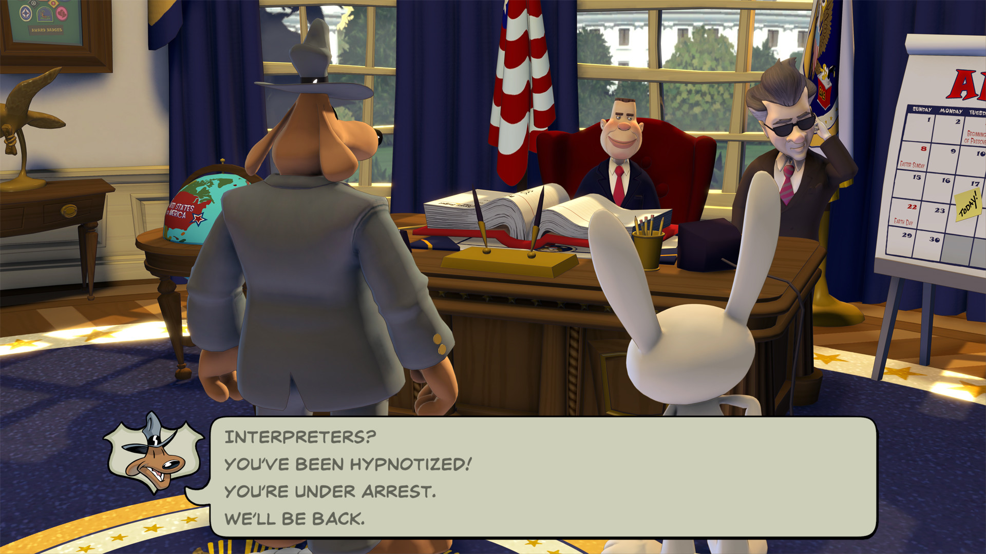 Sam & Max Save the World screenshot 1