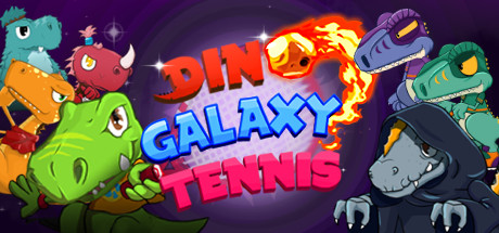 Dino Galaxy Tennis Cover Image