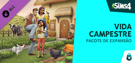 The Sims 4 Vida Campestre [PT-BR] Capa