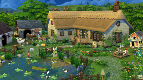 The Sims 4: Cottage Living DLC License Key