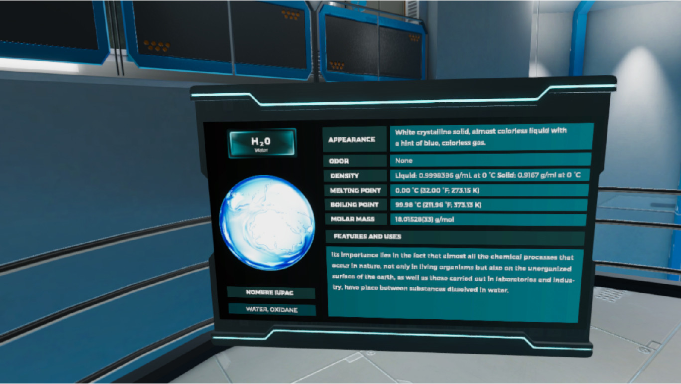 Oculus Quest 游戏《Molecule Builder VR》分子生成器插图(2)