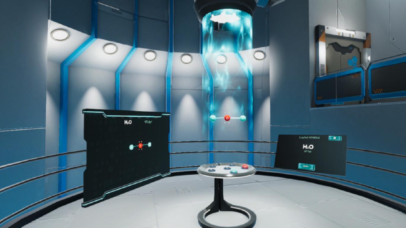 Oculus Quest 游戏《Molecule Builder VR》分子生成器插图(3)