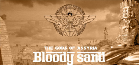 Bloody Sand  The Gods Of Assyria Capa