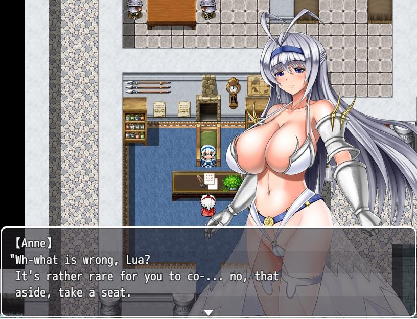 Huge Breast Princess Knight Anne