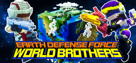 EARTH DEFENSE FORCE: WORLD BROTHERS Cover Image