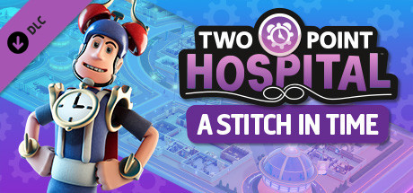 Two Point Hospital A Stitch in Time [PT-BR] Capa