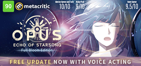 OPUS: Echo of Starsong Cover Image