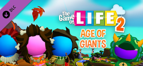THE GAME OF LIFE 2  Age of Giants world Capa