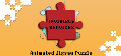 Invisible Services – Pixel Art Jigsaw Puzzle Cover Image