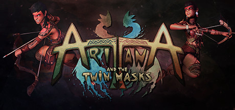 Aritana and the Twin Masks [PT-BR] Capa