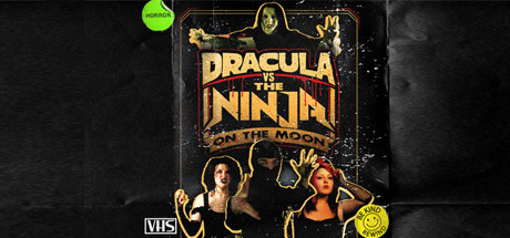 Dracula VS The Ninja On The Moon Capa