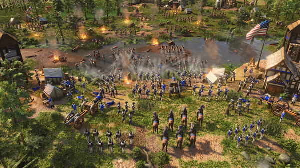 Download Age Of Empires III Definitive Edition + United States Civilization 2021 RePack KaOs Cracked Torrent Direct Link PC Cover 1