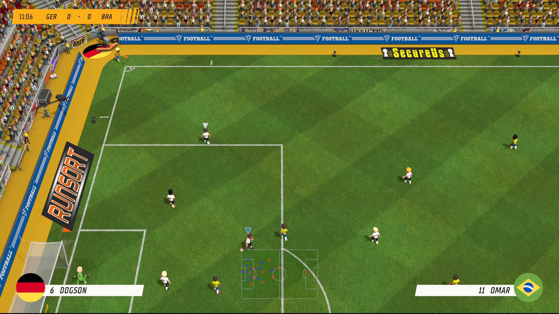 An Image from Super Soccer Blast: America vs Europe