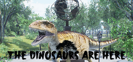 The Dinosaurs Are Here Cover Image
