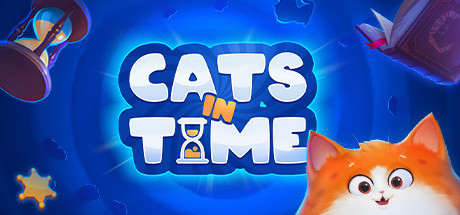 Cats in Time Capa
