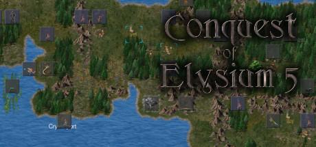 Conquest of Elysium 5 Capa