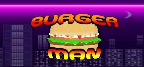 BURGER MAN Cover Image