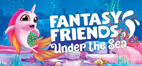 Fantasy Friends Under The Sea [PT-BR] Capa