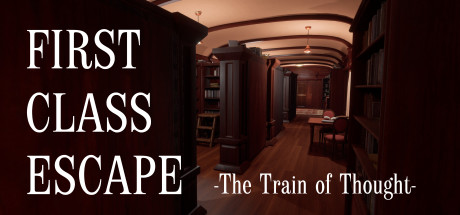First Class Escape The Train of Thought Capa